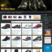 Nike Shoes And Apparel Store - Functionally Online Business Website Sale For Sale