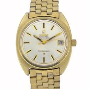 Omega Constellation C 168.017 Cal 564 Automatic Silver 1969 Goldcap 35 Mm