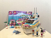 Lego Friends Dolphin Cruiser And Emma's Lifeguard Post
