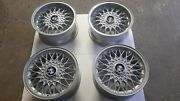 """Bbs Rz 320 And 378 15"""" 4x100 Wheels Staggered Look Bmw E30 E21 No Bbs Rs Rm"""