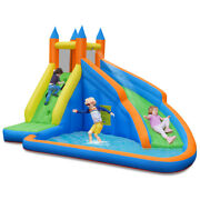 Inflatable Water Slide Mighty Bounce House Jumper Castle Moonwalk Without Blower