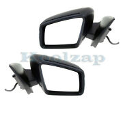 13-16 Gl-class And 13-14 Ml-class Mirror Power W/signal And Puddle Lamp Set Pair