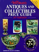 Warman's Antiques And Collectibles Price Guide By Ellen T. Schroy Excellent