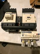Telemecanique Lc2d11 Reversing Contactor And Lr9d5567 Overload Relay