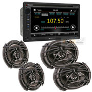 Vr-651b Double Din 6.5″ Cd/dvd Lcd Touch Screen Car Stereo + 6x9 And 6.5 Speaker