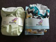 Kanga Care Lil Joey Aio All In One Cloth Diapers Newborn New Lot Of 12