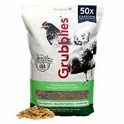 Grubblies Original Usa And Ca – Natural Grubs For Chickens - Chicken Feed 5 Lbs
