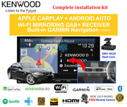 Kenwood Dnx9190dabs For Bmw 3 Series 2005-2014 E90 Stereo Upgrade-amp