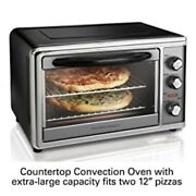 Hamilton Beach Countertop Rotisserie Convection Toaster Oven, Large, Stainless