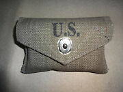 Wwii Us Army M1942 First Aid Kit Pouch - Reproduction Wq561