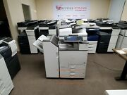 Ricoh Mp C5503 Color Copier With Stapling Finisher. Meter Count Only 158k