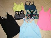 Womens Small Sports Bras Plus Others Bundle Of 7
