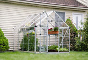 Palram Snap And Grow Greenhouse 6and039x8and039 6and039x12and039 6and039x16and039 In Silver