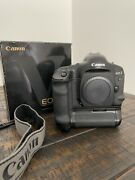 [top Mint With Box Count 090] Canon Eos-1v Hs 1v 35mm Slr Film Camera W/ Strap