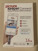 Iphone Smart Usb Drive 16gb [apple Mfi Certified] Picture Keeper Connect Backup