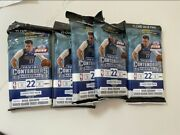 New 2020-21 Panini Contenders Nba Basketball Cello Fat Pack Lot Of 5 Sold Out