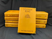 The Dark Tower, Complete 8 Book Set, By Stephen King, Leather Re-bound
