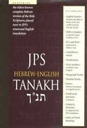 Hebrew-english Tanakh Mint Condition