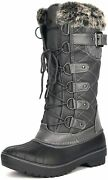 Dream Pairs Womenand039s Dp Warm Faux Fur Lined Mid Calf Winter Snow Boots