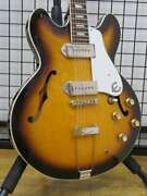 Epiphone Casino Vintage 670755 Semi-hollow Body Safe Shipping From Japan