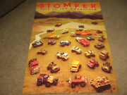 Vintage Schaper Stomper Poster And Club News--reproductions 1983