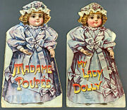 C.1890s Antique Books Madame Poupee And My Lady Dolly - Father Tuckand039s Doll Series