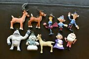 Lot Of 10 Rudolph The Red-nosed Reindeer Misfit Toys Christmas Ornaments