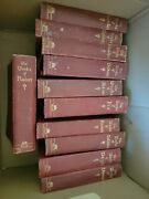 Lot Of 11 Antique / Vintage Books - Titles Shown In The Pictures The Works 1920s
