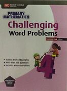 Challenging Word Problems Common Core Ed. Grade 4 By Yan Kow Cheong Brand New