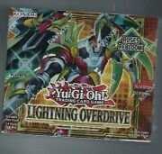 Yu-gi-oh Lightning Overdrive Booster Box 1st Edition Factory Sealed