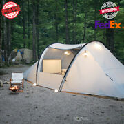 Travel Tunnel Tent Outdoor Camping 40d/70d Silicon Drive Waterproof Large Family
