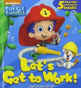 Let's Get To Work Bubble Guppies By Az Books Mint Condition