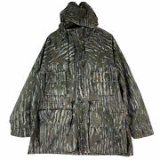 10x Realtree Gore-tex Made In Usa Heatgear Thermal Insulate Hoodie Parka Jacket