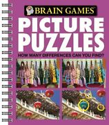 Brain Games Picture Puzzles 3 How Many Differences Can By Editors Of