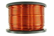 Temco 9 Awg Copper Magnet Wire - 5 Lb 125 Ft 200anddegc Magnetic Coil Winding