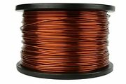 Temco 14 Awg Copper Magnet Wire - 5 Lb 396 Ft 200anddegc Magnetic Coil Winding