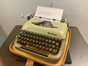 1962 Optima Super Typewriter With American Qwerty Fully Serviced