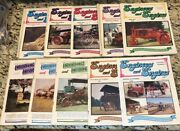 Lot Of 10 Engineers And Engines Magazine 80's Steam Gas Tractor Farm Book Lot