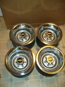 73-87chevy Gmc Truck 4x4 6 Lug 15x8 Gm Truck Rallys,new Rings And Centers