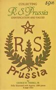 Rs Prussia Identification Andndash Patterns Molds Marks Fakes Blanks Etc. / Scarce Book