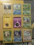 Pokemon Neo Genesis Near Complete Set 107/111 Nm/lp Never Played Investment