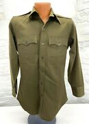 Wwii Us Army Officers Long Sleeve Shirt