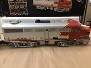 Aristocraft G Scale Santa Fe {3 Trains}22310 2 Red /silver And 22010 1 Silver