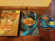 Monster Rancher 3 Sony Playstation 2 Ps2, 2001 Cib Complete In Box Tested.