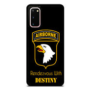 Us Airborne Destiny Case Cover For Samsung Galaxy S21 S20 Plus Ultra S10+ S9