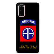 Airborne All The Way Case Cover Samsung Galaxy S21 S20 Plus Ultra S10+ S9