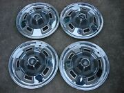 1967 1968 1969 Plymouth Barracuda Sport Fury 14 Wheel Covers Hubcaps