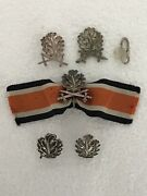German Knights Cross Wwii 2 X Oakleaves Plus 3 X Oakleaves And Swords Attachments