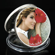 Sandra Bullock Famous Person Coin Sexy Coin Challenge Coin Art Ornament Wall Art