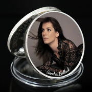 Sandra Bullock Challenge Coin Silver Plated Famous Person Coin Art Ornament